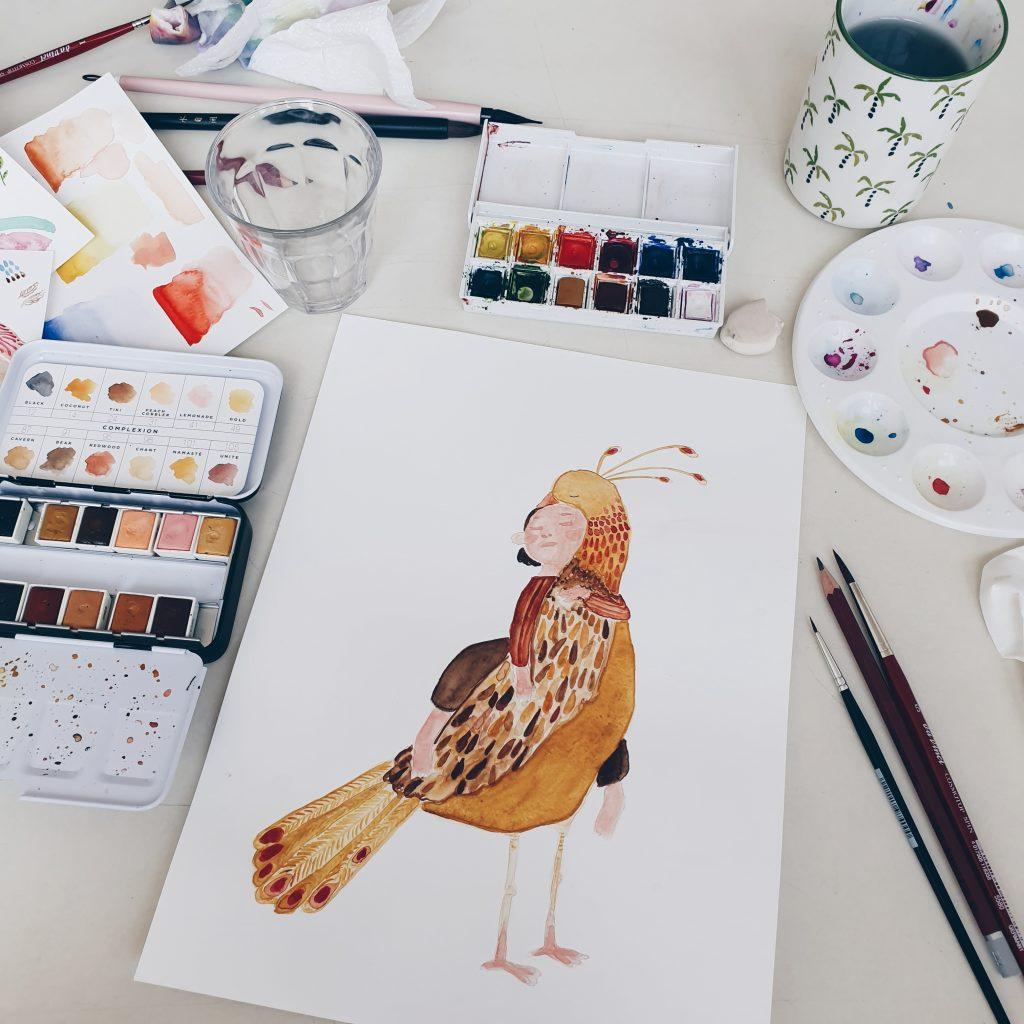 paperbrush studio by dagmar valeriei