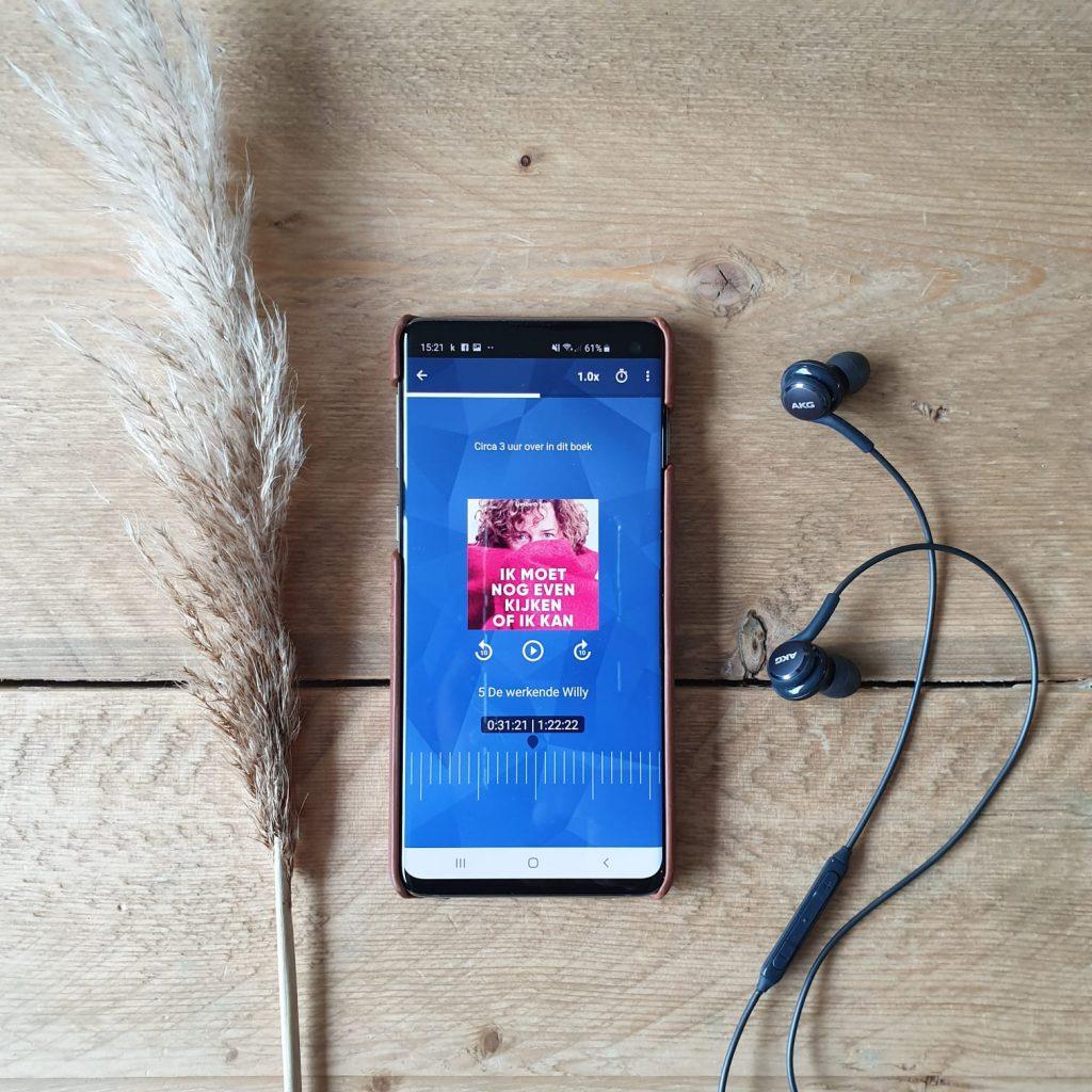 Kobo Plus Luisteren e-book Ik moet nog even kijken of ik kan