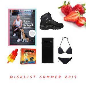 Mijn zomerse wishlist – Nieuwe bergschoenen, bikini en telefoon