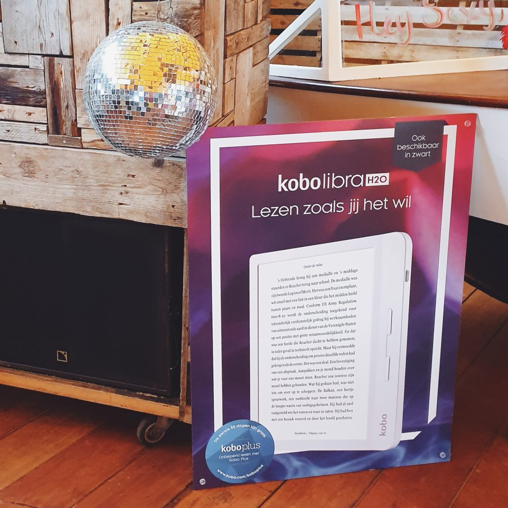 lancering kobo ereader Libra H20