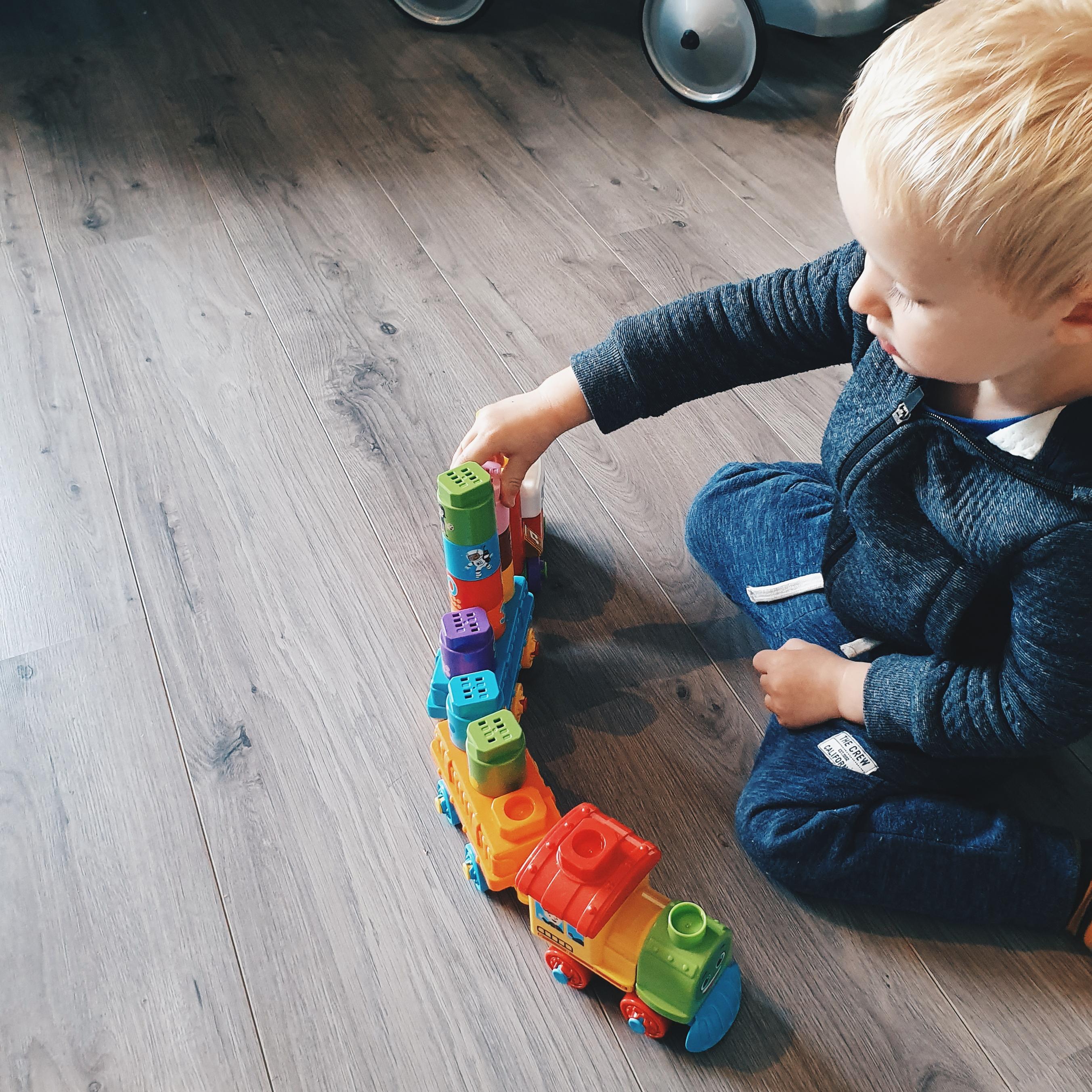Cadeautip – VTech Bla-Bla-Blocks Trein voor kleine conducteurs