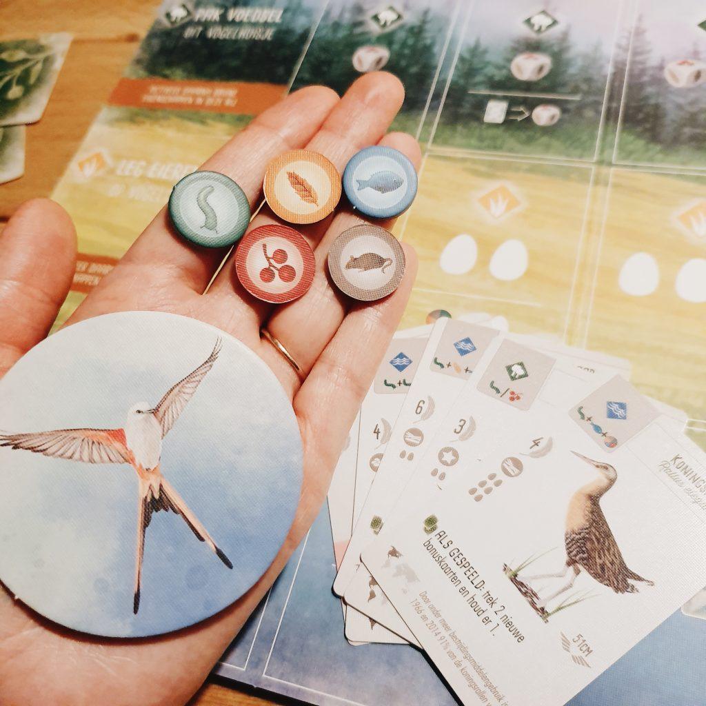 bordspel Wingspan 999games dagmar valerie