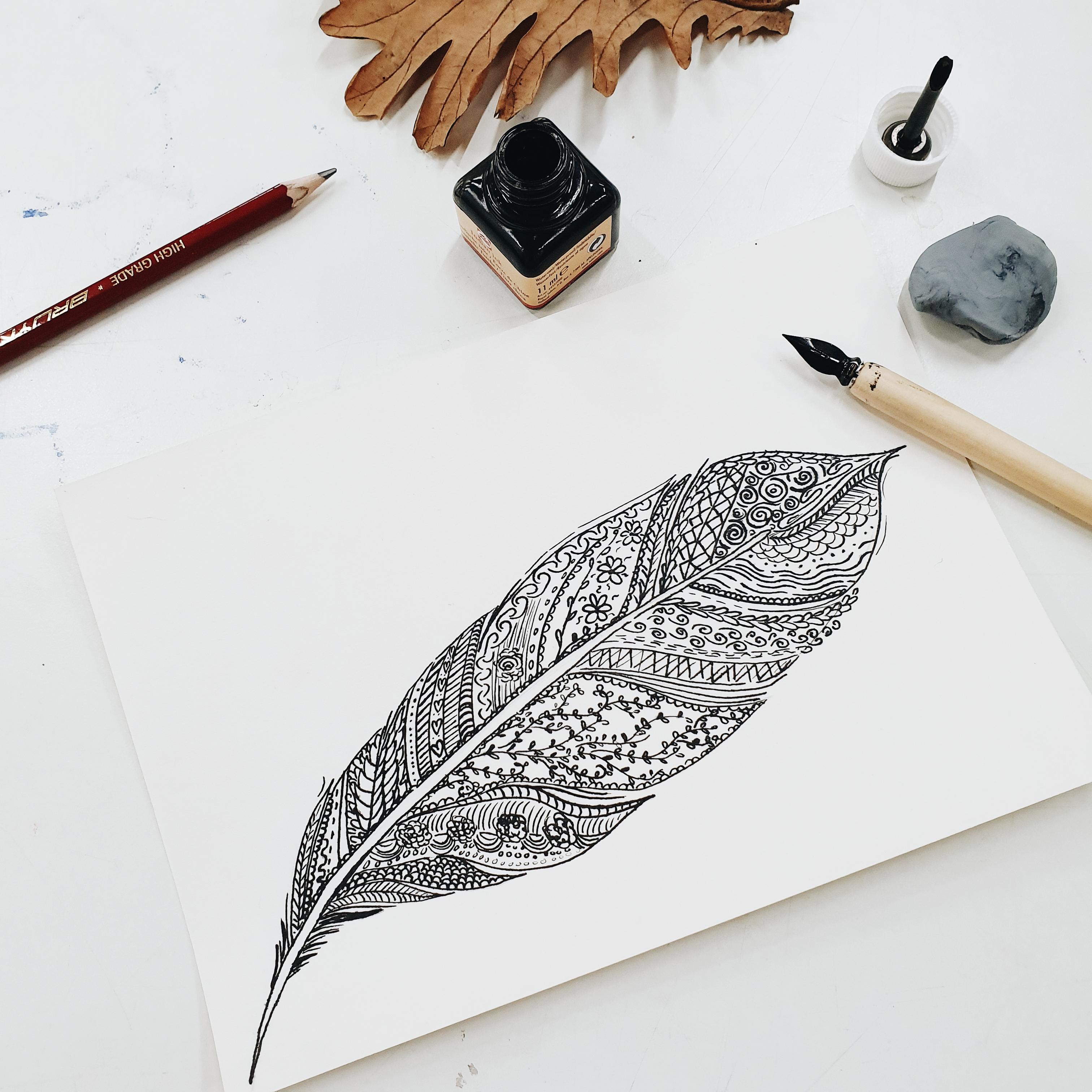 creatieve flow dagmar valerie illustratie