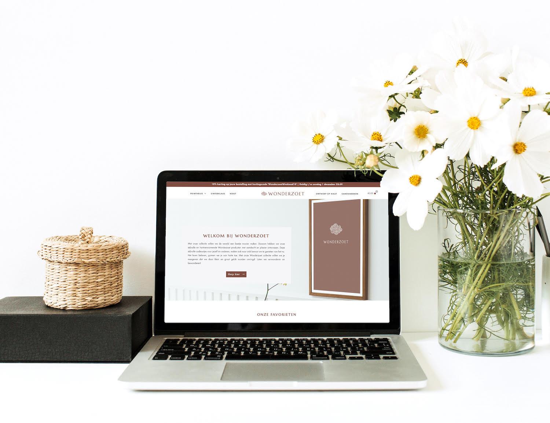 De lancering: onze webshop Wonderzoet!
