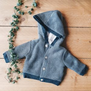 Geshopt voor de kleine – Het eerste jasje van onze babyboy