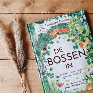 Geniet van puur natuur door het boek 'De bossen in'