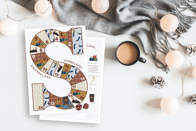 Sinterklaas Dobbelspel – Spelregels voor het Sinterklaasspel