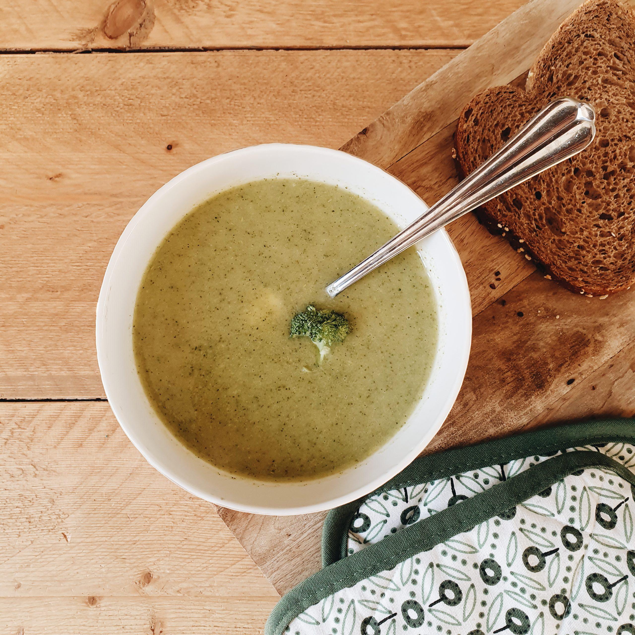 zelf broccolisoep maken dagmar valerie recept goedkoop