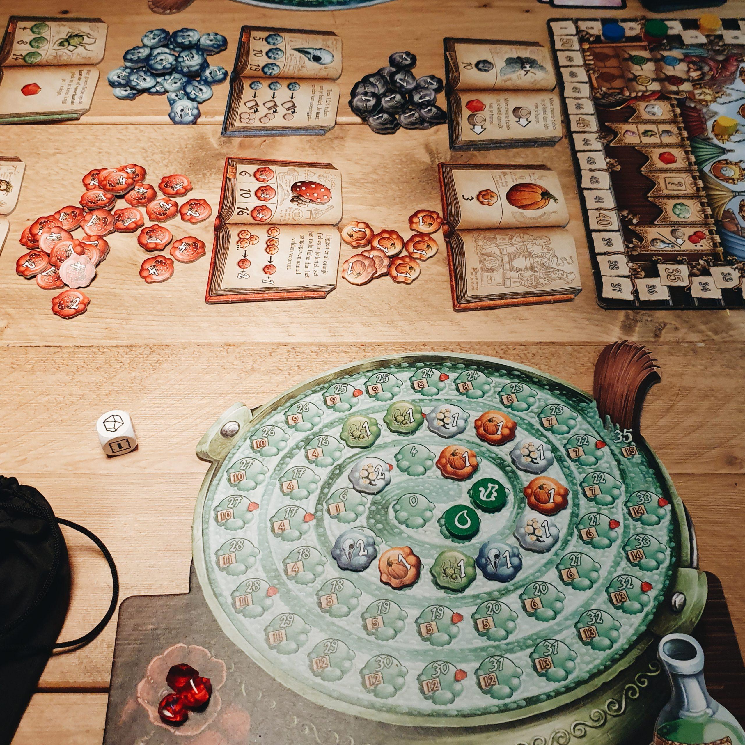 Favoriete bordspel – De Kwakzalvers van Kakelenburg