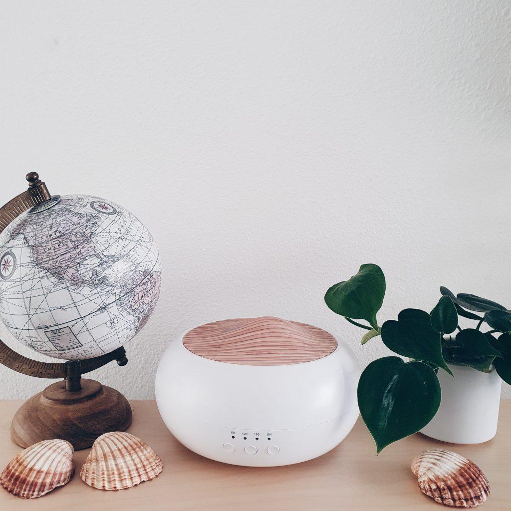 Geurwolkje aromatherapie thuis