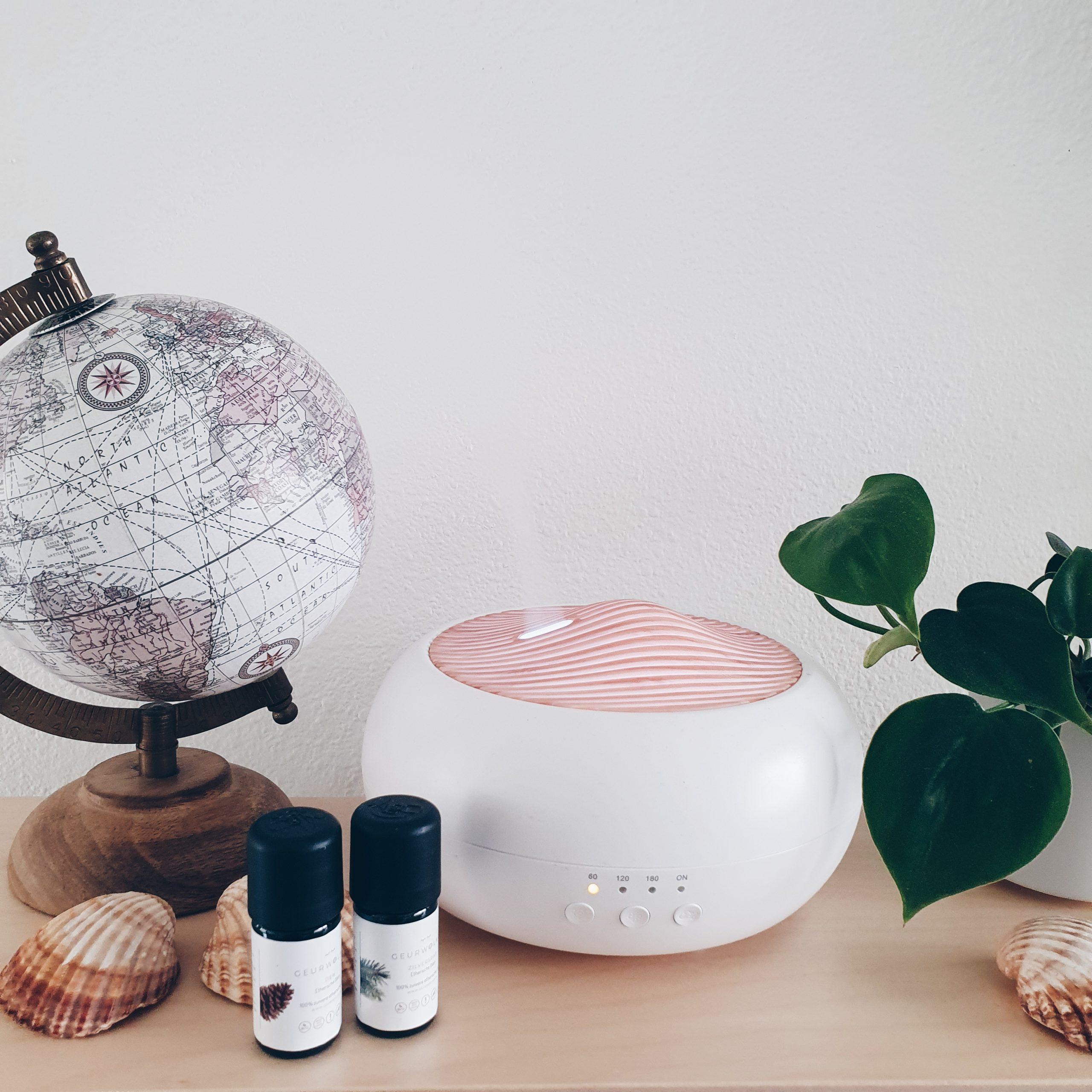 Geurwolkje – Aromatherapie voor thuis