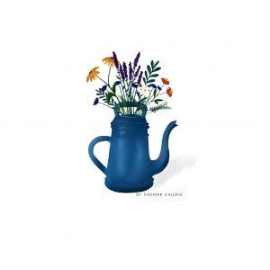 Lucky List – Zeeland, illustreren en bloeiende tuin