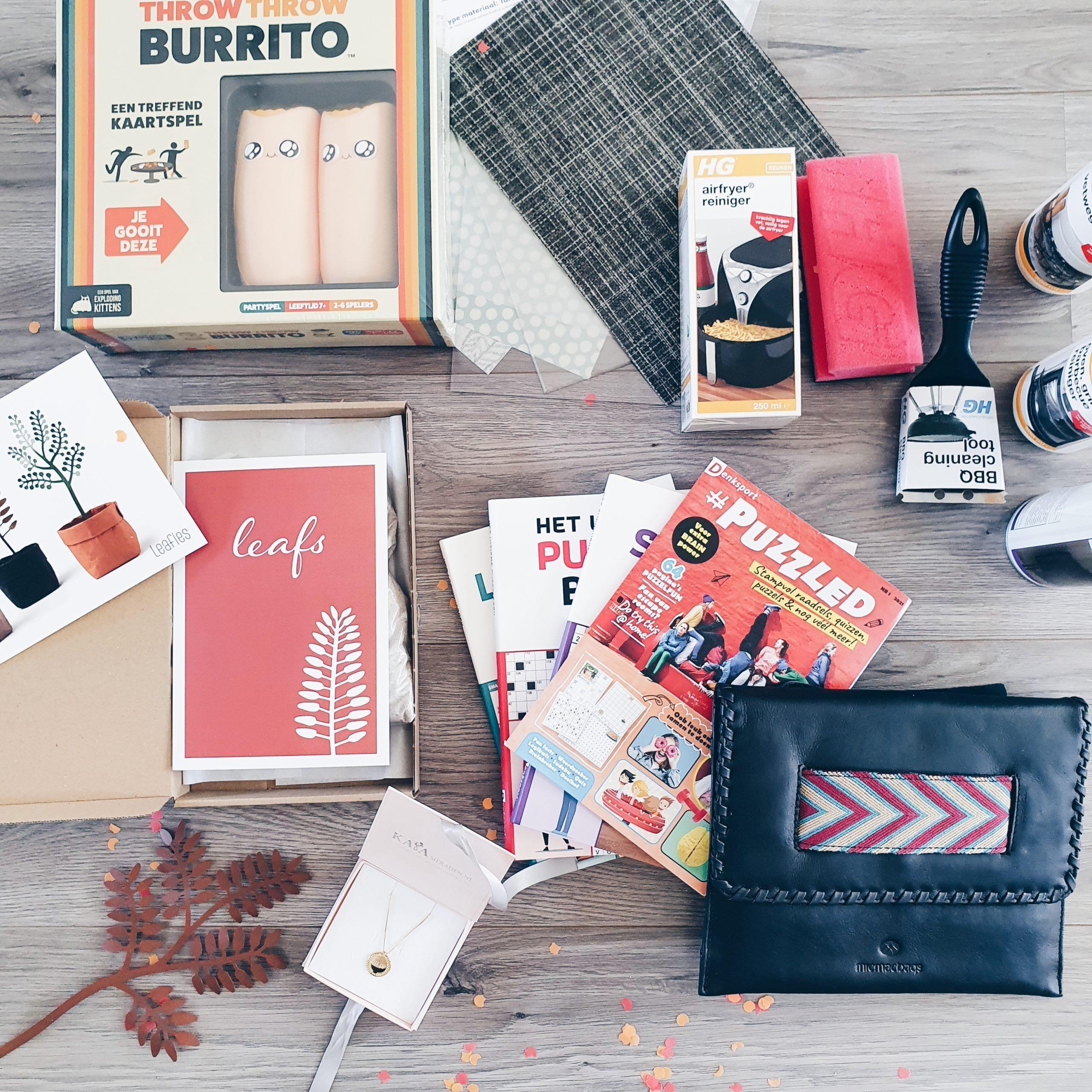 Blogbox 2021 – Vier de zomer!